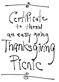 thanksgiving images and quotes stressed throw an easygoing thanksgiving picnic improvised life