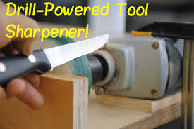where can i get my kitchen knives sharpened drill powered knife sharpener diy woodworking tools 9 8 steps