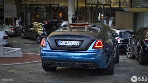 Rolls Royce Mansory Wraith Bleurion 5 July 2017 Autogespot