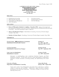 Residential Counselor Resume Mental Health Cover Letter Choice Image Cover Letter Ideas