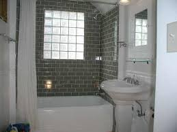 bathroom with black and white mosaic tiles flooring feat subway bathroom ideas gray dazzling powder room grey bathrooms small