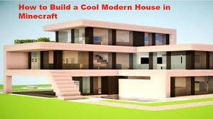 Cool House Designs How To Build A Better Cool Modern House In Minecraft Pe V0 12 1