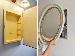 Bathroom Medicine Cabinet Mirror by Best 25 Medicine Cabinet Redo Ideas On Pinterest Medicine