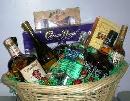 liquor baskets silent auction 2006