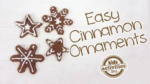 easy cinnamon ornaments for