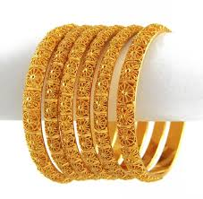 gold bracelet set images Top 12 six piece yellow gold indian bangle set jpg
