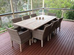 whitewashed teak outdoor elegance