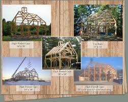 Tall Timber Barn Pre Cut Timber Frames For Buildings Storage Garages And More