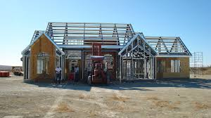 A Frame House Kits Modular House Contemporary Steel Framing Metal Picture On