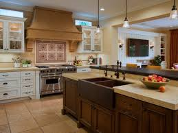 Kitchen Island With Butcher Block Top by Kitchen Island With Sink And Range Rectangular White Ceramic Apron