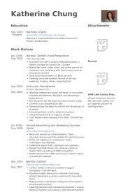 Resume Samples For Food Service by Food Prep Resume Haadyaooverbayresort Com