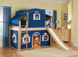 girls twin loft bed with slide furniture stunning kids twin loft bed with desk 10970a 10978a