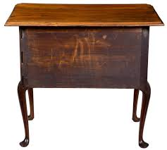 Queen Anne Dining Room Highly Figured Walnut Queen Anne Dressing Table Or Lowboy Ma Or