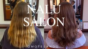 my first haircut in a year japanese hair salon youtube