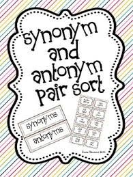 Antonym For Comfort Hands On Synonym Blocks Matching Game Matching Games