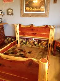 52 best log beds images on pinterest bed frames furniture ideas