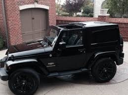 black jeep black rims my new 2015 jeep wrangler sahara customized a bit special black