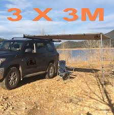 4 Wheel Drive Awnings New 3m X 3m 4wd 4x4 Side Car Pull Out Awning Camper Trailer