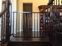 Stair Gates For Banisters Custom Baby Safety Stair Gate Baby Safe Homes
