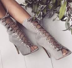 s grey boots uk grey lace up high heel boots fashion ankle boots uk womens