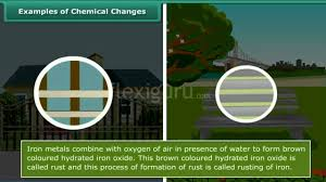 examples of chemical changes youtube