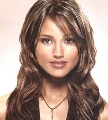 layered haircuts with side bangs long wavy hair style with side