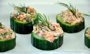 my carolina kitchen smoked salmon on cucumbers u2013 featuring two