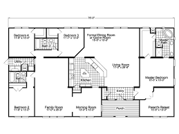 floor plans the gotham vr41764b manufactured home floor plan or modular floor