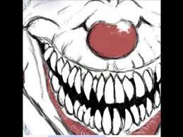 evil clown drawings tutorial youtube