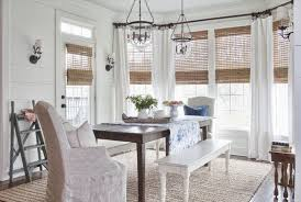 curtain ideas for dining room stunning exquisite dining room window treatments simple window