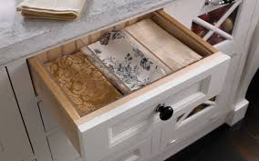 Kitchen Drawer Organization Ideas by Adjustable Drawer Dividers Wood Mode Fine Custom Cabinetry
