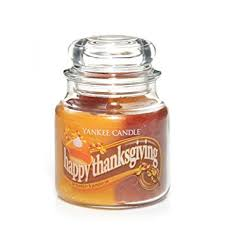 yankee candle 13 oz swirl candle happy thanksgiving