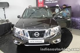 nissan terrano 2017 nissan terrano facelift front launched indian autos blog