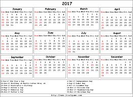 2017 us calendar printable 2017 calendar with holidays usa blank calendar printable
