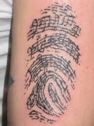ceker music note tattoo designs for men