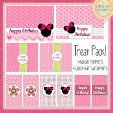 293 best minnie mouse birthday printables images on pinterest