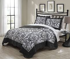 Black And White Damask Duvet Cover Queen Black And White Bedding U2013 Ease Bedding With Style