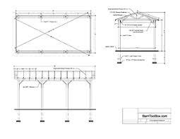 Attached Carport Plans How To Build Wooden Carport Free Car Port Plans