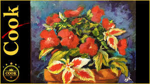 complementary paint colors complementary color palette red and green floral still life