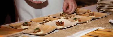 bamboo disposable plates bamblu wholesale or reseller food service disposable tableware