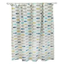 Fish Curtains Fish Shower Curtain Free Home Decor Oklahomavstcu Us
