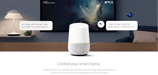 google home google assistant voice activated speaker white slate