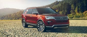 Ford Explorer Platinum - 2018 ford explorer suv 7 passenger suv ford com