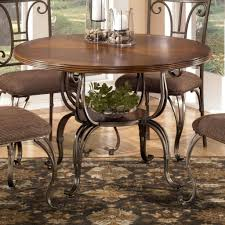 dining table signature design by ashley plentywood round dining