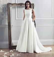 plain wedding dresses wedding dresses caroline castigliano hepburn wedding