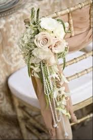 wedding things orchids roses pearls and flowing fabric make for the