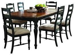 black dining room set black and brown dining room sets home interior decor ideas