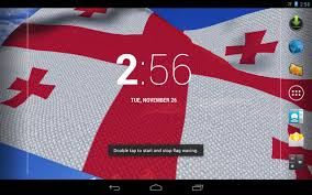 State Flag Georgia 3d Georgia Flag Live Wallpaper Android Apps On Google Play