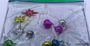 ornaments sensory bag