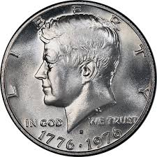 1776 to 1976 quarter dollar united states 1976 bicentennial kennedy half dollar